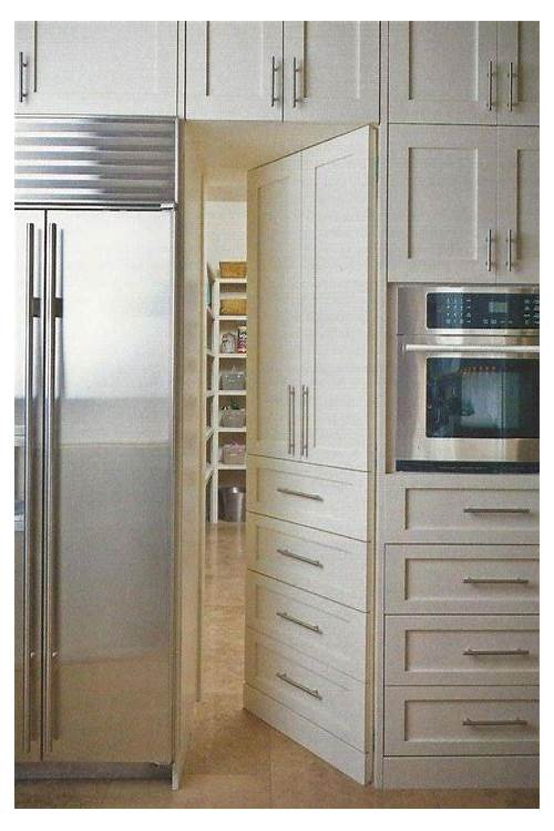 Hidden Kitchen Pantry Doors kitchen design & decor ideas gallery