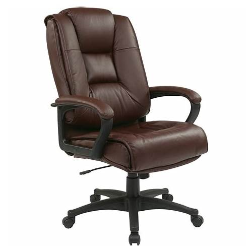 High Back Executive Leather Office Chair Lumbar office design & decor ideas gallery