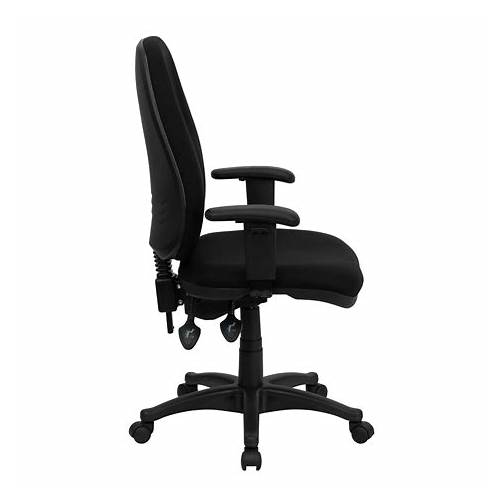 High Back Office Chair with Adjustable Arms office design & decor ideas gallery