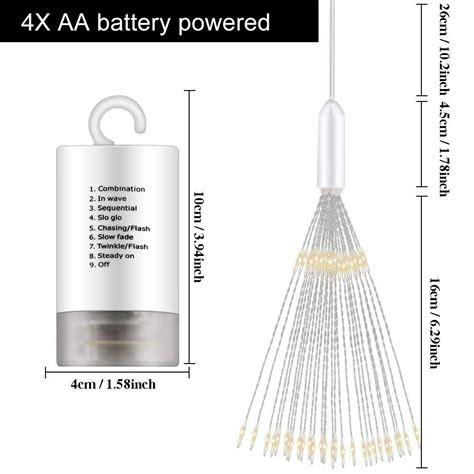 Hohoto Firework Lights, LED Fairy Lights, 2 Pack of DIY