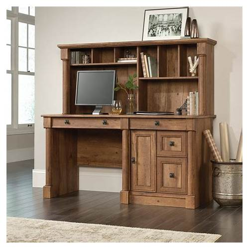 Home Office Computer Desk with Hutch office design & decor ideas gallery