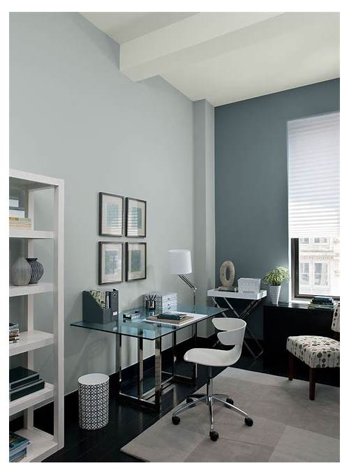 Home Office Wall Colors Blue office design & decor ideas gallery