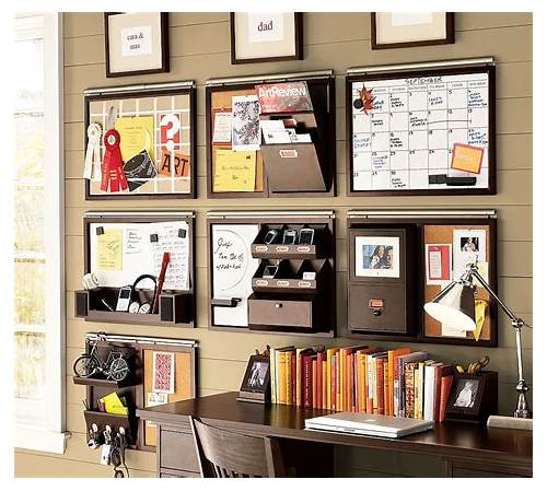 Home Office Wall Organizer System office design & decor ideas gallery