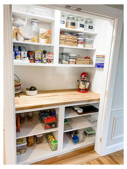 Ideas to Organize Kitchen Pantry kitchen design & decor ideas gallery