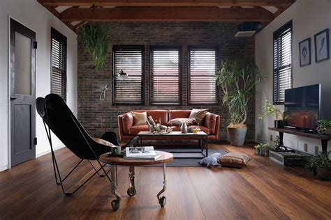 Industrial Living Room Design living room design & decor ideas gallery