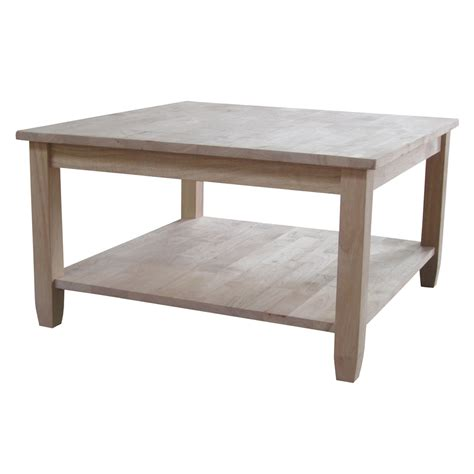 International Concepts Solano Square Coffee Table