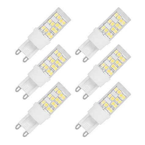 JandCase G9 LED Bulb, Dimmable LED Lights, 40W Halogen