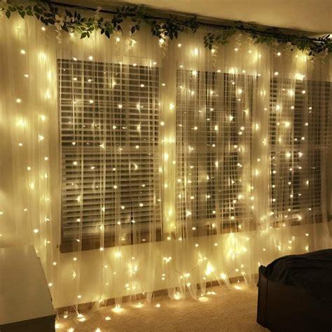 LE 306 LED Curtain Lights, 9.8 x 9.8 ft, 8 Modes Plug in