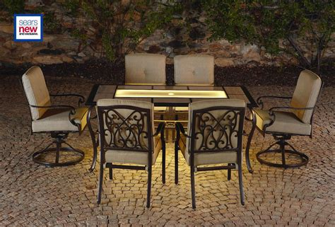 Lazy Boy Outdoor Patio Dining Table Set