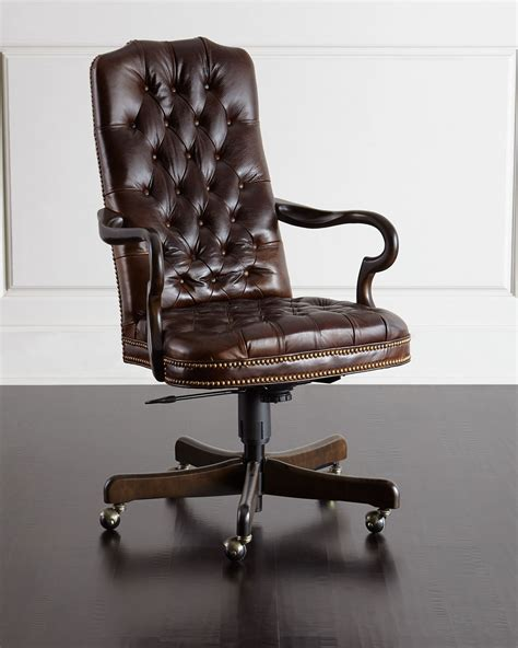 Leather Office Chair office design & decor ideas gallery