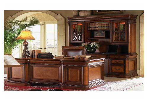 Luxury Home Office Desk office design & decor ideas gallery