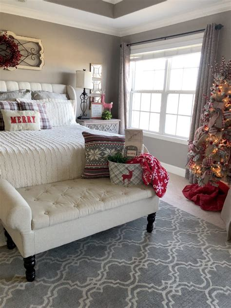 Master Bedroom Decorating Ideas Christmas bedroom design & decor ideas gallery