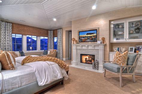 Master Bedroom Fireplace Idea bedroom design & decor ideas gallery