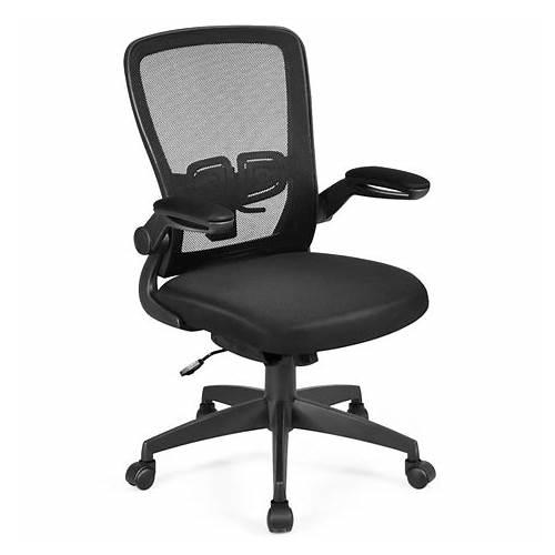 Mid-Back Office Chair Black office design & decor ideas gallery