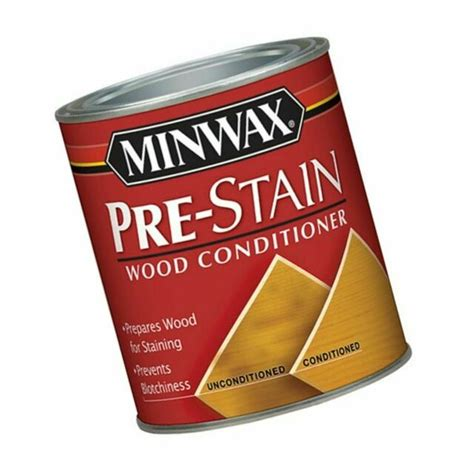 Minwax 41500000 Pre-Stain Wood Conditioner, pint