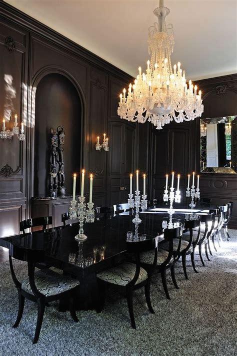 Modern Gothic Dining Room dining room design & decor ideas gallery