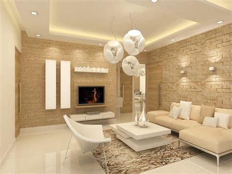 Modern Gypsum Ceiling Design for Living Room living room design & decor ideas gallery