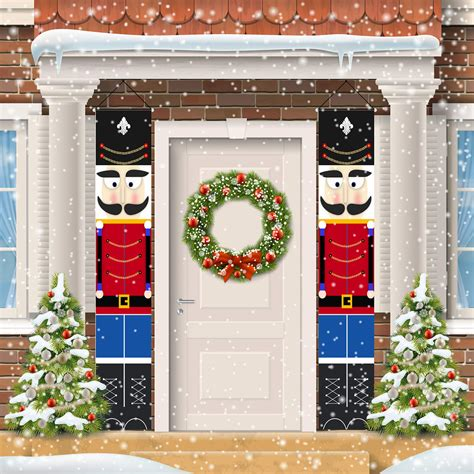 ORIENTAL CHERRY Christmas Decorations Outdoor Indoor   Merry Bright Porch