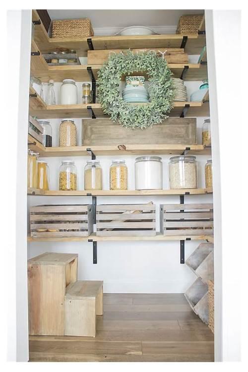 Open Shelving Kitchen Pantry kitchen design & decor ideas gallery