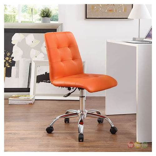 Orange Armless Office Chairs office design & decor ideas gallery