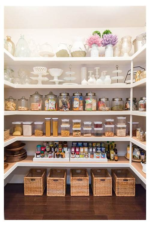 Organized Kitchen Pantry kitchen design & decor ideas gallery
