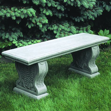 Outdoor Garden Benches Stone