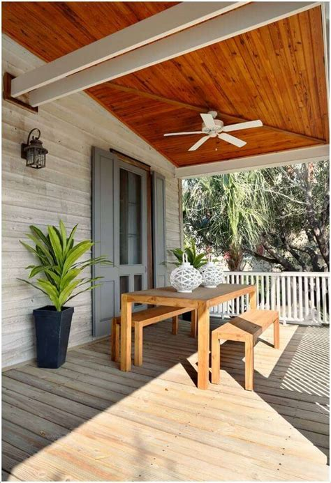 Outdoor Patio Ceiling Wood
