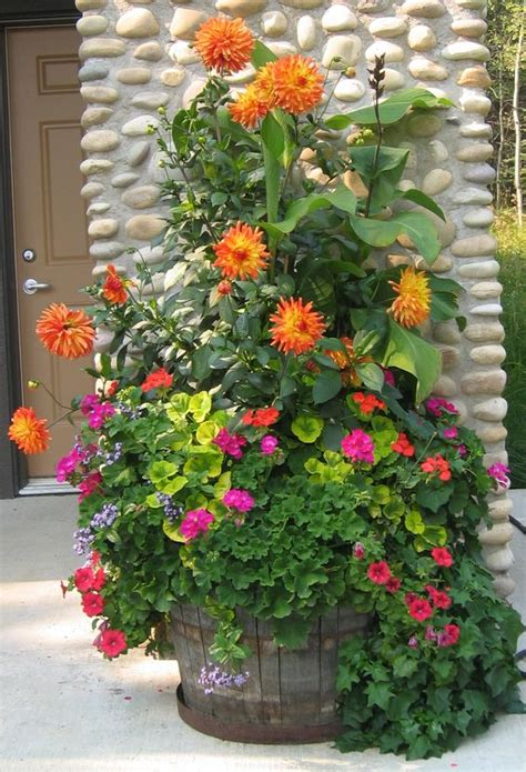 Outdoor Patio Planter Ideas