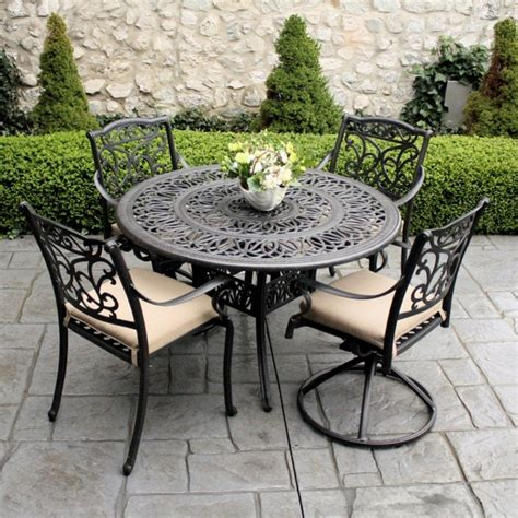 Outdoor Wrought Iron Patio Furniture