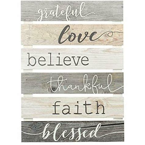 P. Graham Dunn Grateful Love Believe Thankful Faith Blessed