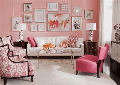 Pink Living Room Walls living room design & decor ideas gallery