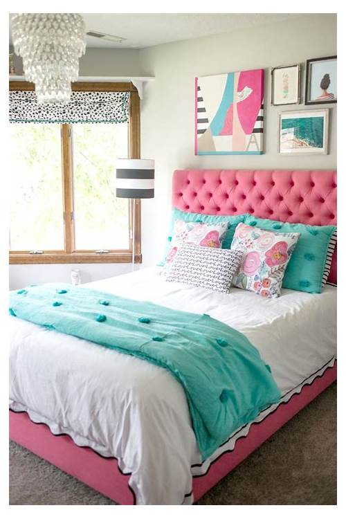 Pink and Turquoise Bedroom Ideas bedroom design & decor ideas gallery