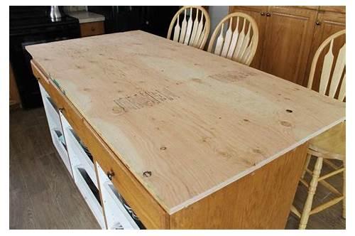 Plywood Kitchen Countertop Ideas kitchen design & decor ideas gallery