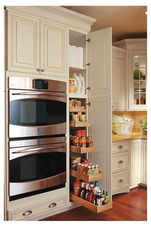 Pull Out Kitchen Storage Pantry Cabinets kitchen design & decor ideas gallery