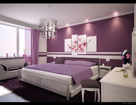 Purple Bedroom Design Ideas bedroom design & decor ideas gallery