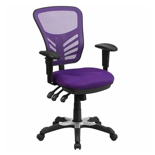 Purple Mesh Office Chair office design & decor ideas gallery