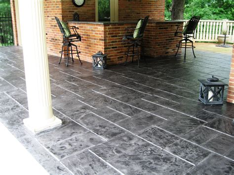 Resurfacing Concrete Patio
