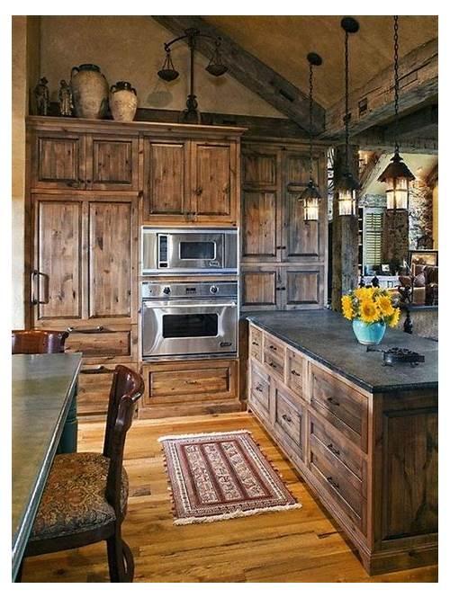 Rustic Farmhouse Kitchen Cabinet Ideas kitchen design & decor ideas gallery
