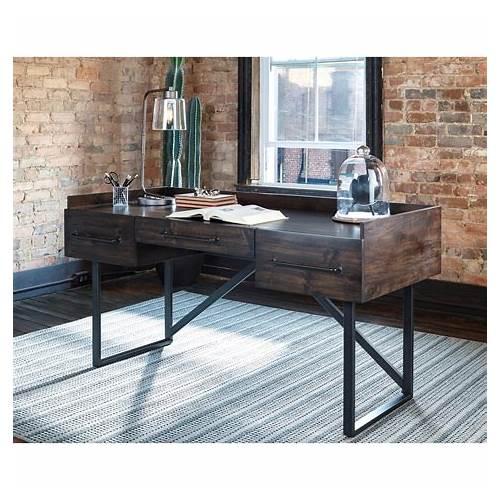Rustic Industrial Home Office Desks Furniture office design & decor ideas gallery