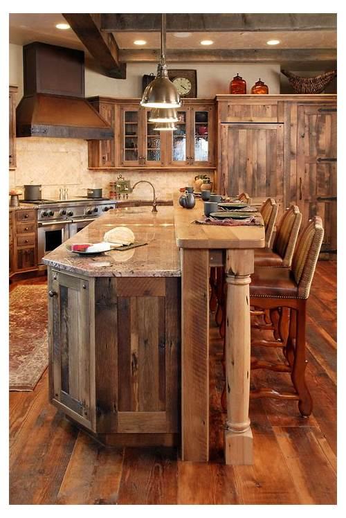 Rustic Kitchen Cabinets kitchen design & decor ideas gallery