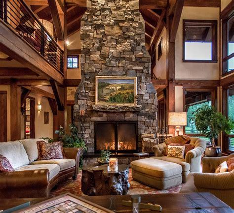 Rustic Living Room Design living room design & decor ideas gallery