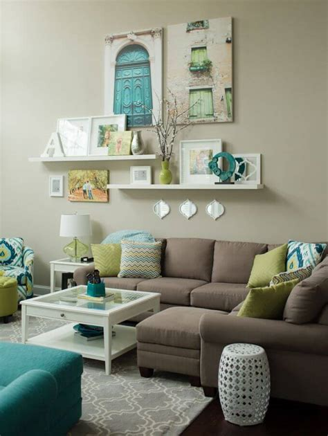 Simple Living Room Wall Decor living room design & decor ideas gallery