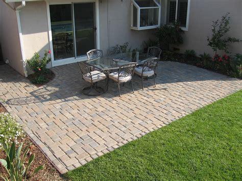 Simple Paver Patio Designs patio design & decor ideas gallery