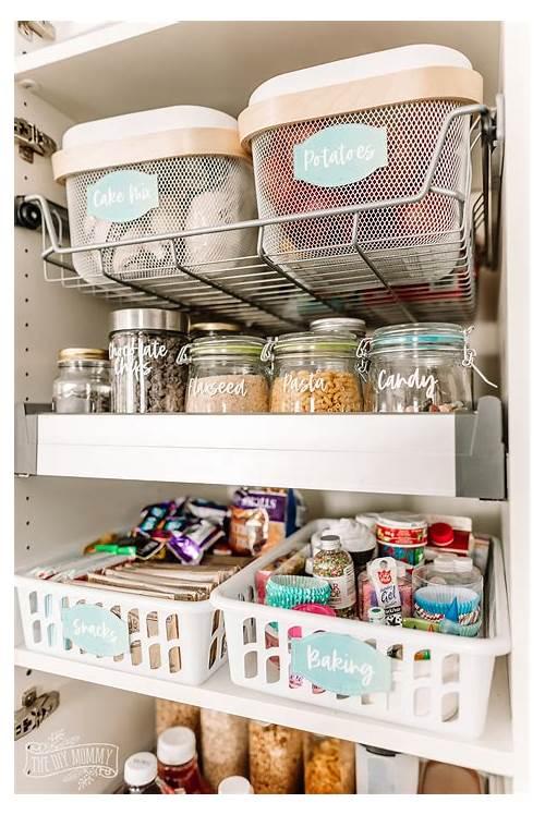 Small Kitchen Pantry Organization kitchen design & decor ideas gallery