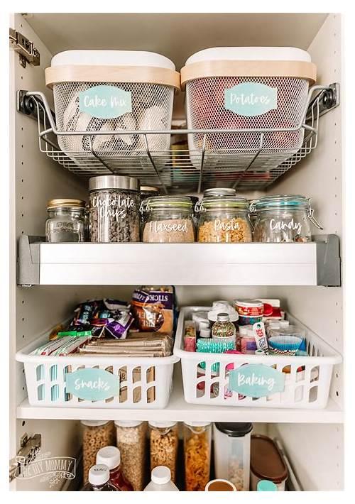 Small Kitchen Pantry Organization Ideas kitchen design & decor ideas gallery
