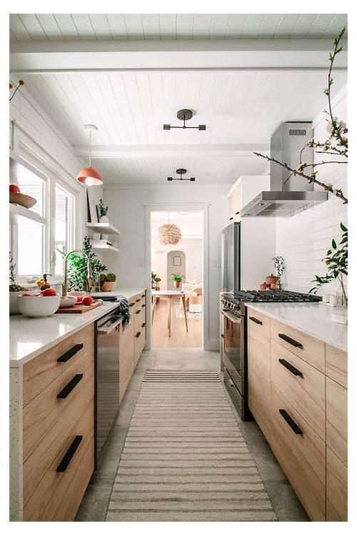 Small Narrow Galley Kitchen kitchen design & decor ideas gallery