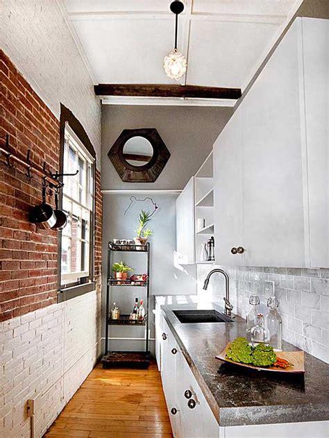 Small Narrow Kitchen Design Ideas kitchen design & decor ideas gallery