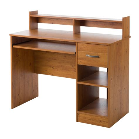 South Shore Axess Desk with Keyboard Tray, White
