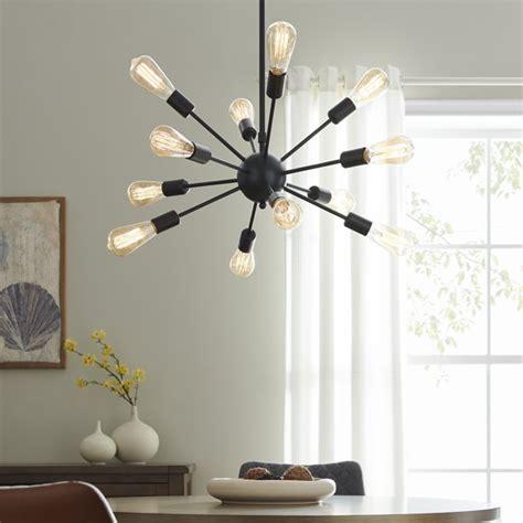 SputnikChandelier Mid Century Modern Pendant 12 Light Rustic Ceiling