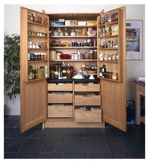 Standing Kitchen Pantry Cabinet kitchen design & decor ideas gallery